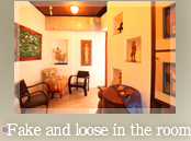 The stylish and spacious private room