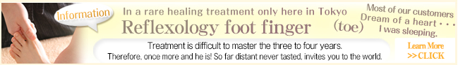 Finger and foot reflexology